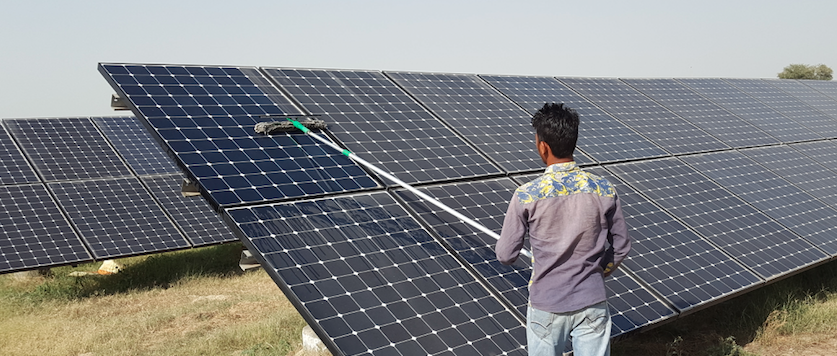 Solar PV Array Cleaning Guidelines